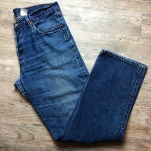 Levi's men's 501 Button fly jeans